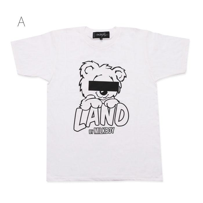 LAND by MILKBOY(ランドバイミルクボーイ) BEAR LAND TEE