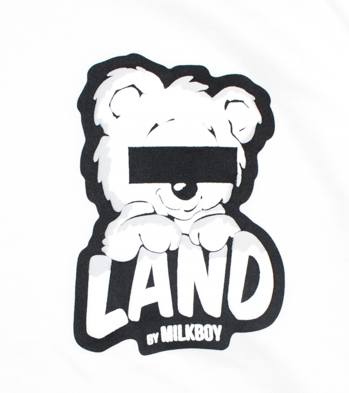 LAND by MILKBOY(ランドバイミルクボーイ) LAND BEAR 天竺パーカー