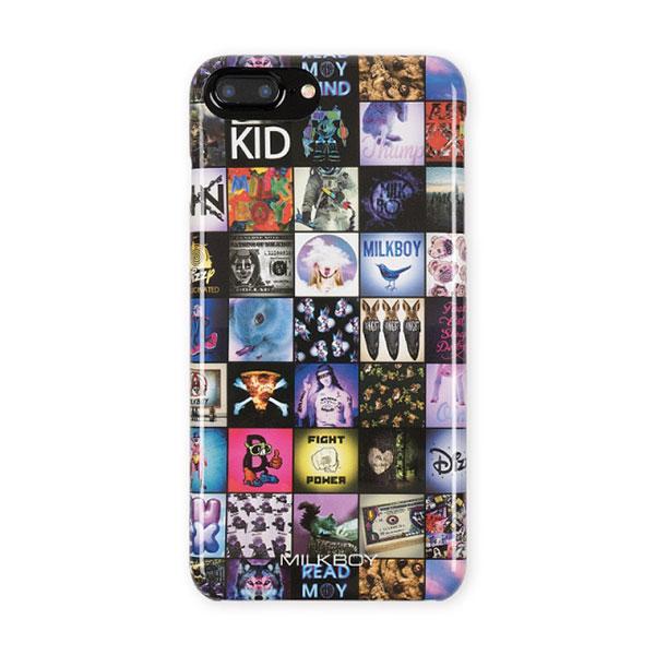 MILKBOY(ミルクボーイ) MILKBOY×Gizmobies/INSTAGRAM PATTERN【iPhone8Plus/7Plus/6sPlus/6Plus】