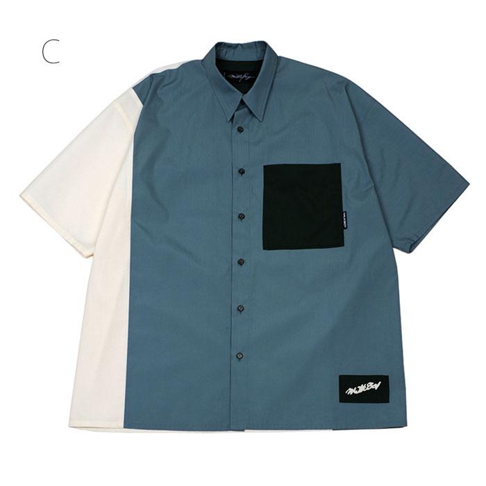 MILKBOY(ミルクボーイ) COLOR MIX シャツ