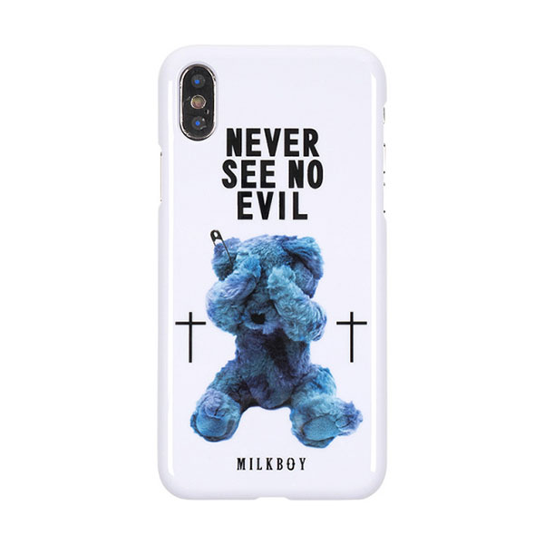 MILKBOY(ミルクボーイ) MILKBOY×Gizmobies/SEE NO EVILBEARS WH【iPhoneX】