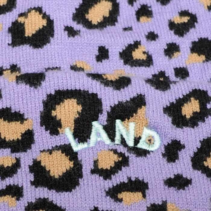 LAND by MILKBOY(ランドバイミルクボーイ) レオパード ビーニー