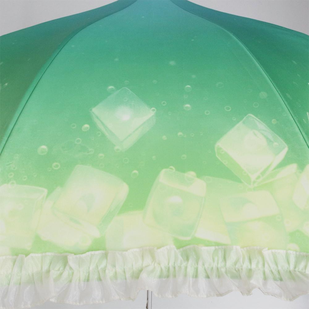 【げみ コラボ】クリームメロンソーダ | パゴダ傘・レディース・晴雨兼用・UVカット