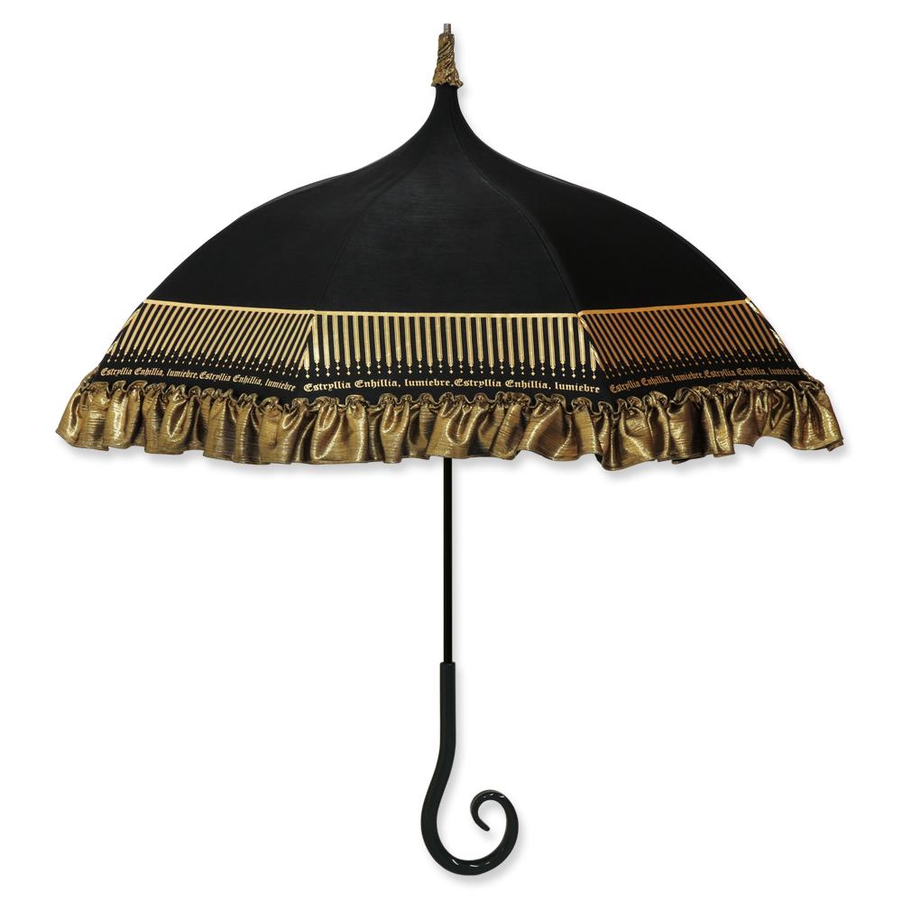 ルミエーブル×エスタリア・エヘニア - 魔女の狂宴✥信仰 - | パゴダ傘・レディース・晴雨兼用・UVカット