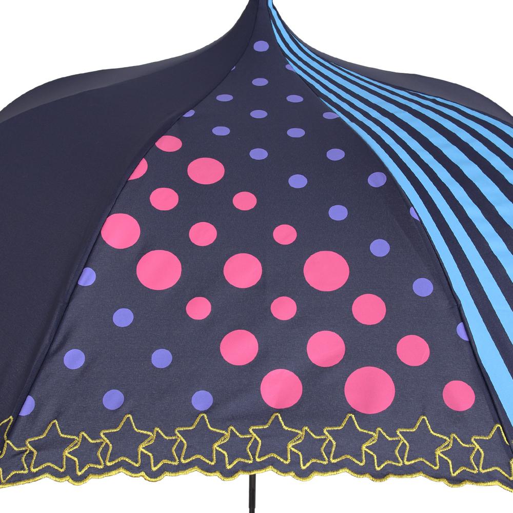 ルミエーブル×バンドリ! ガールズバンドパーティ!Poppin'Party ver. | ミニ折りたたみパゴダ傘・レディース・晴雨兼用・UVカット