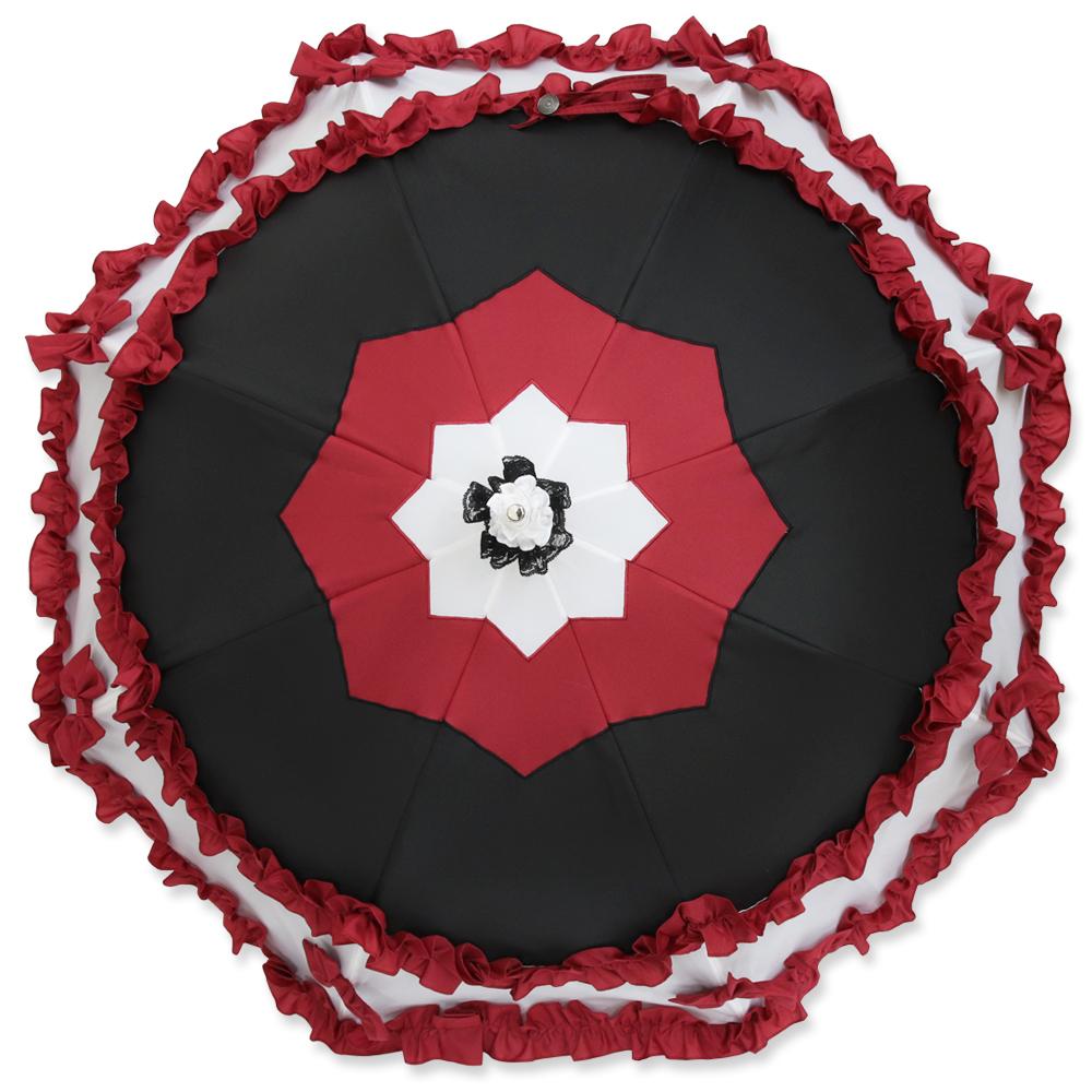 ルミエーブル×マギアレコード 魔法少女まどか☆マギカ外伝「里見灯花」ver.   パゴダ傘・遮光・晴雨兼用・UVカット