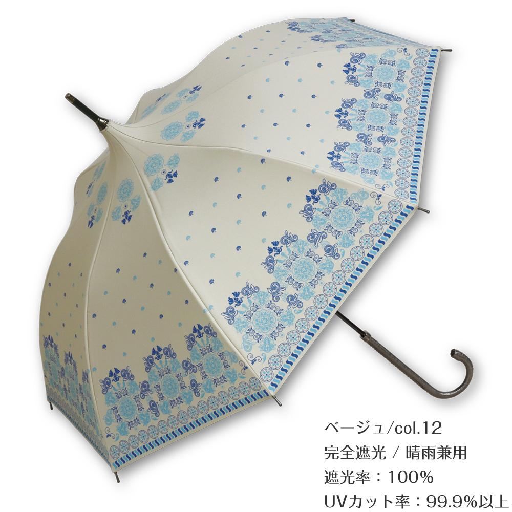 雨上がりの朝 | パゴダ傘・レディース・完全遮光・遮熱加工・晴雨兼用・UVカット