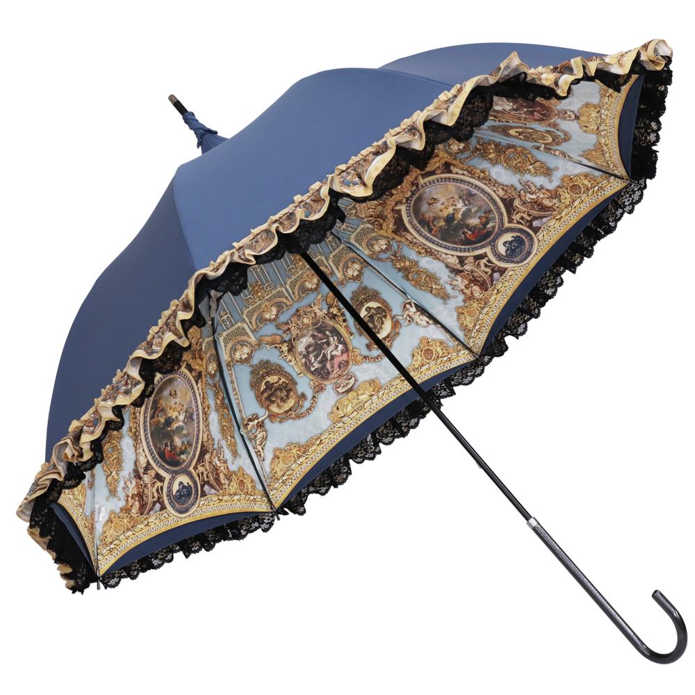 Lumiebre×Krad Lanrete -Le Retentissement De Versailles- ver. | パゴダ傘・レディース・晴雨兼用・UVカット