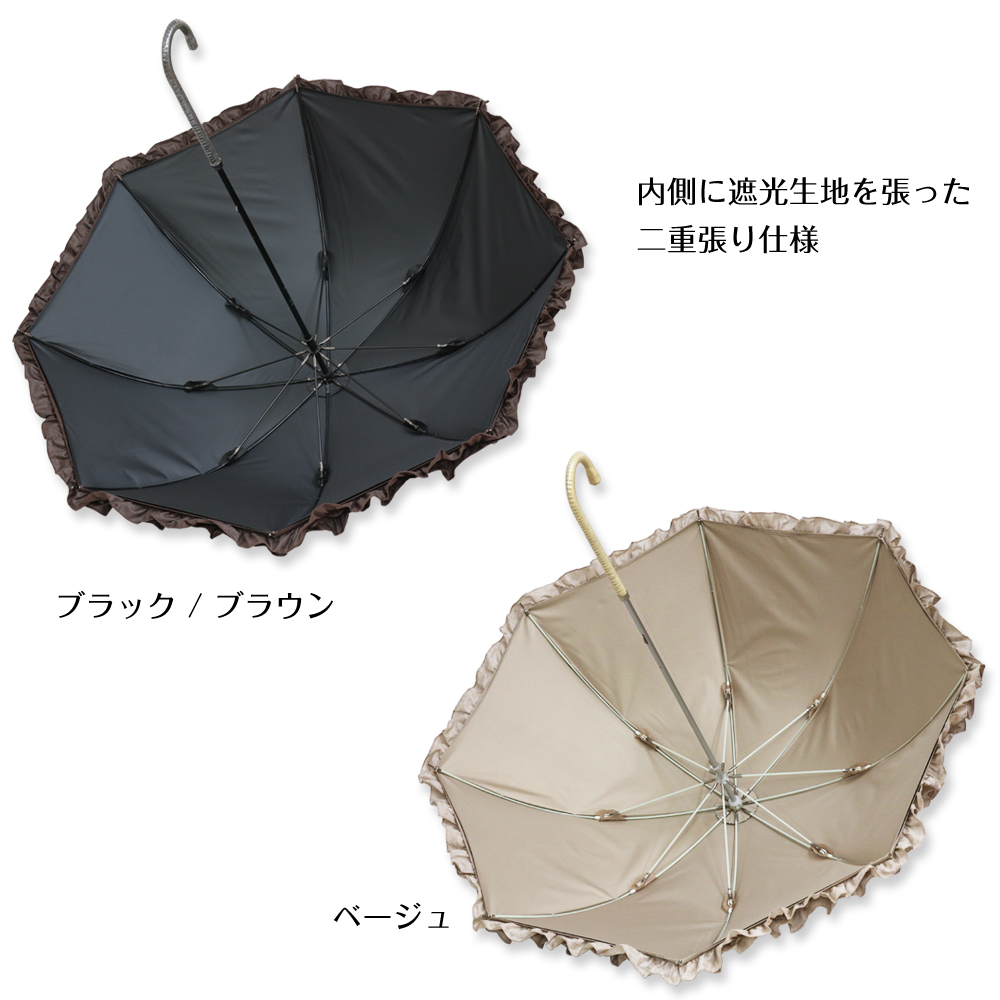 フェアリークローネ | パゴダ日傘・完全遮光・晴雨兼用・レディース