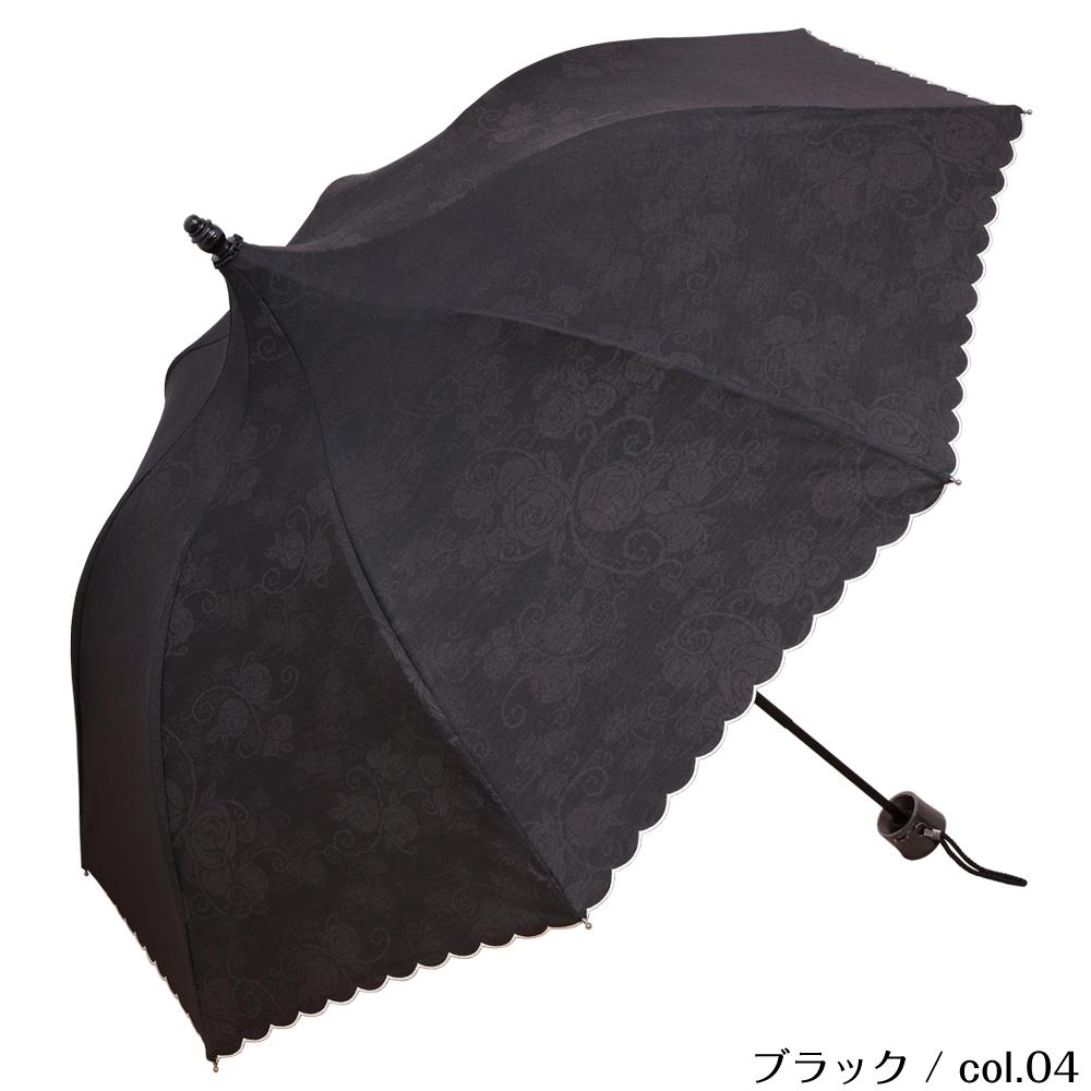 ミニローズ | ミニ折りたたみパゴダ日傘・晴雨兼用・UVカット・レディース