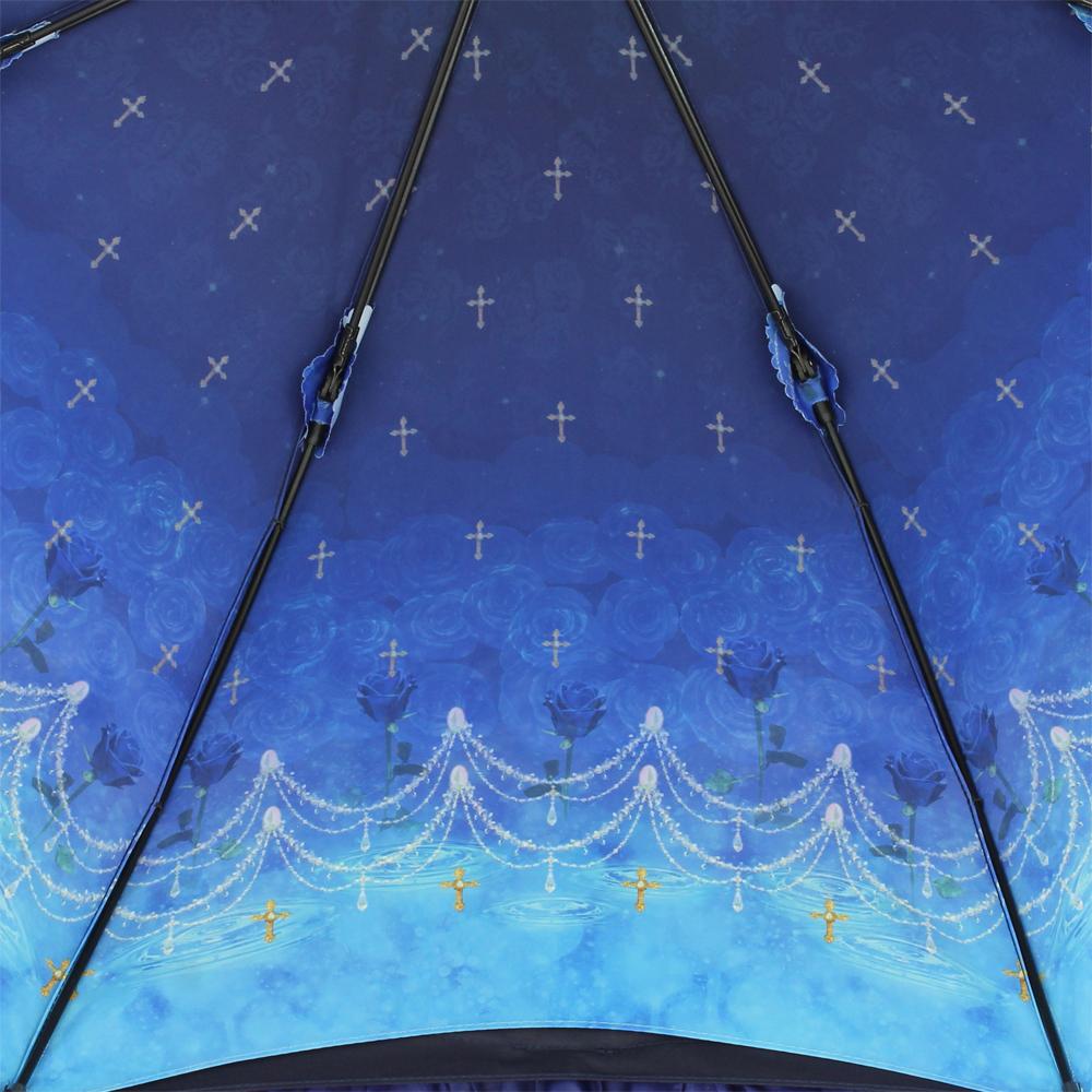 【再販】ルミエーブル×ロゼリア | パゴダ傘・レディース・晴雨兼用・UVカット