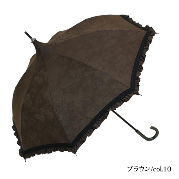 プティローズ   折りたたみパゴダ日傘・晴雨兼用・レディース