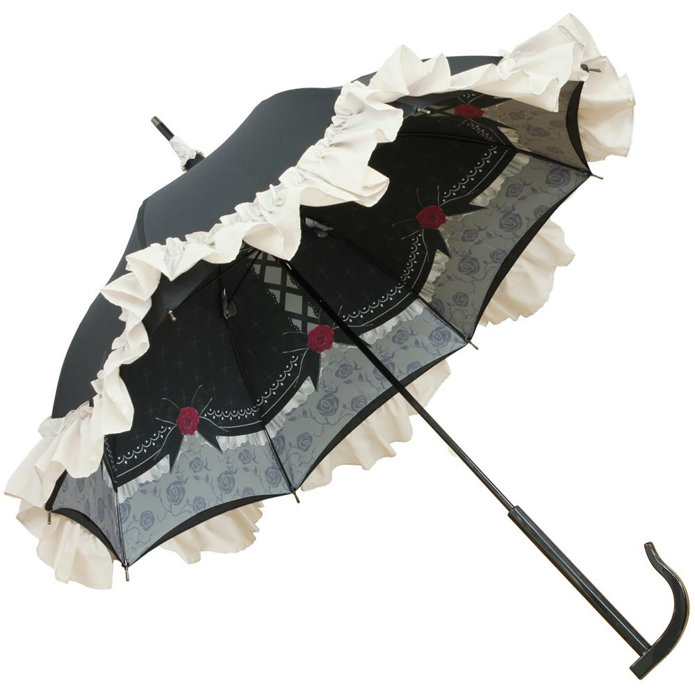 【再販】ルミエーブル×神崎蘭子 アニバーサリープリンセスver. | パゴダ傘・レディース・晴雨兼用・UVカット