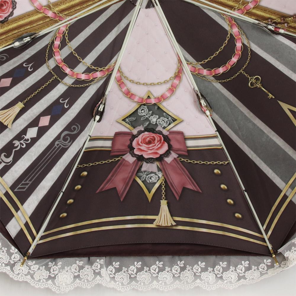 【予約商品】ルミエーブル×アリスクローゼット | パゴダ傘・レディース・晴雨兼用・UVカット