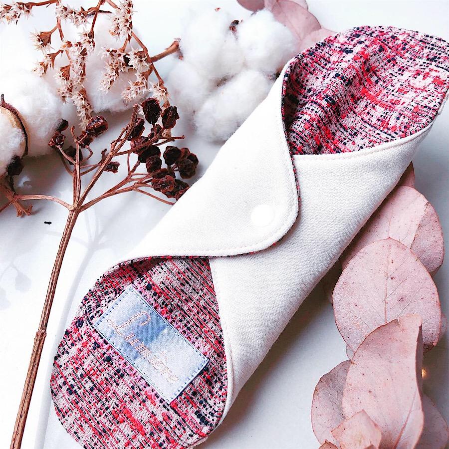 ツイード風布ナプキン レギュラータイプ ウィンターカラー