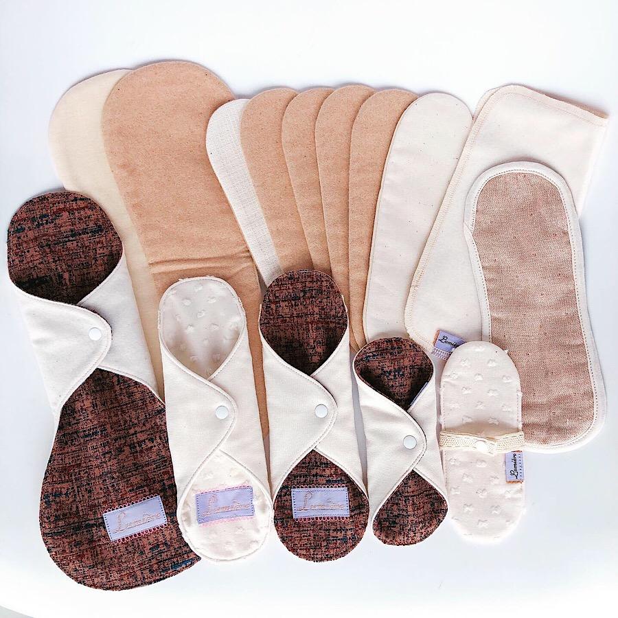 ツイード風布ナプキン ロングサイズタイプ ウィンターカラー