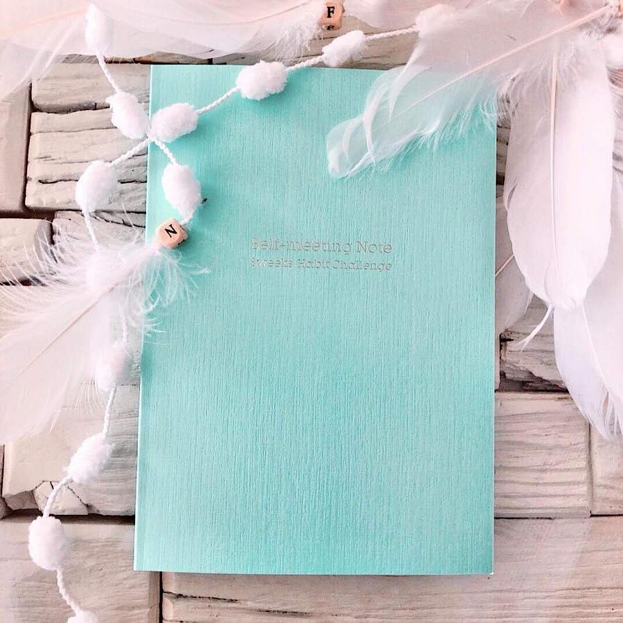 【BLUE】セルフミーティングノート- 3weeks Habit Challenge