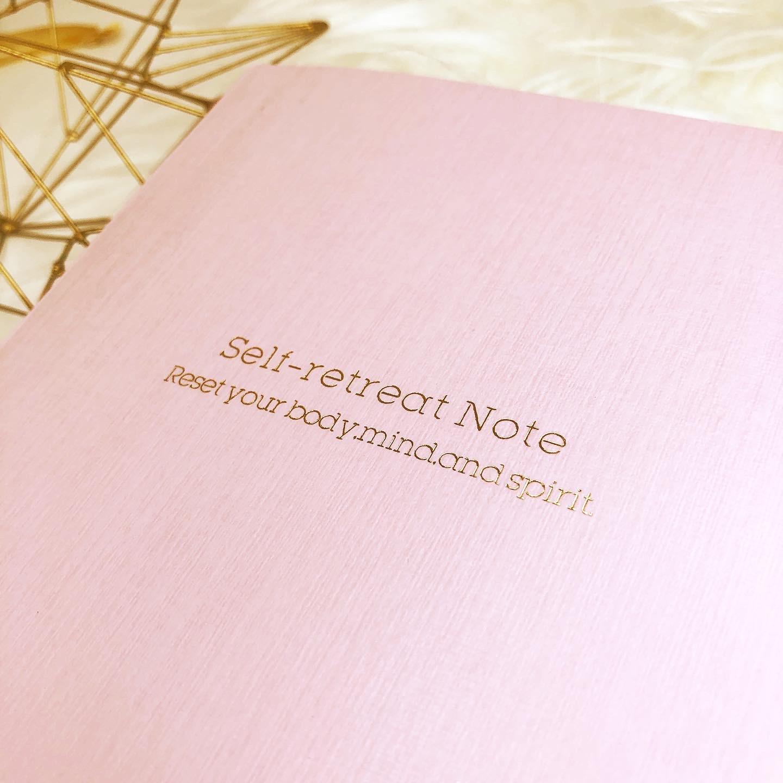 SELF RETREAT NOTE(セルフリトリートノート)