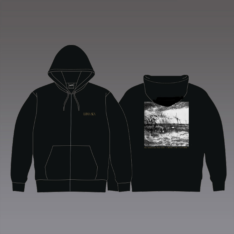 ジップアップパーカー/Zip-up hoodie
