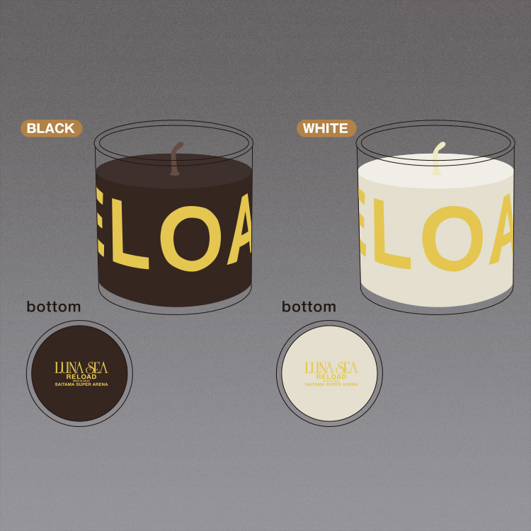 ソイキャンドル(BLACK)/Soy candle (BLACK)