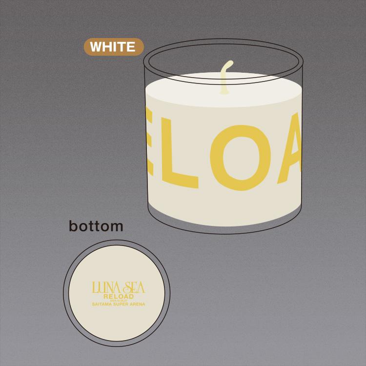 ソイキャンドル(WHITE)/Soy candle (WHITE)