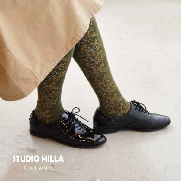 ハイソックス STUDIO HILLA スタジオヒッラ くつした 【全11種】