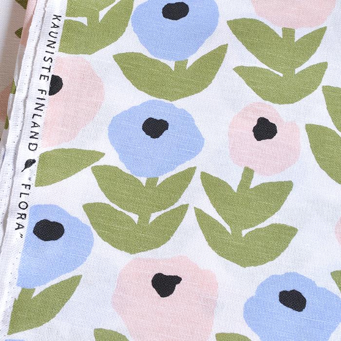 【生地】カウニステ/ フローラ Flora  全2色/10cm単位