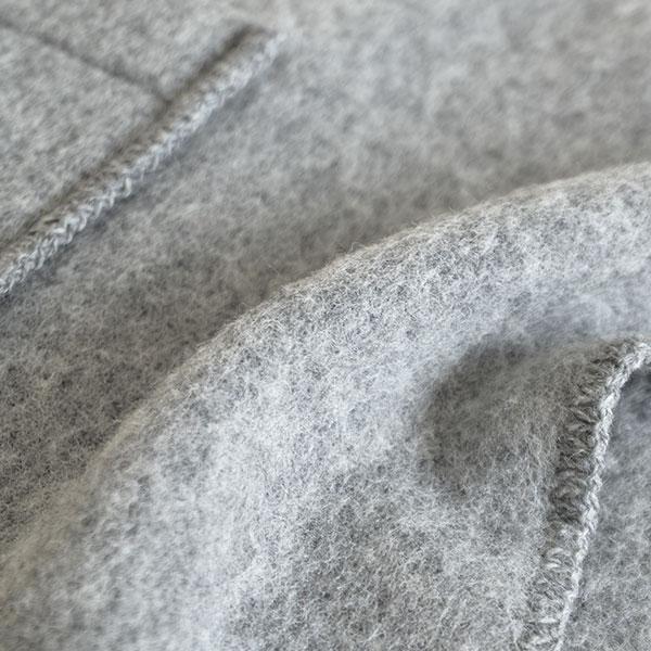 LAPUAN KANKURIT/ラプアン カンクリ UNI/ウニ ウールショール ポケット付き ポケットショール
