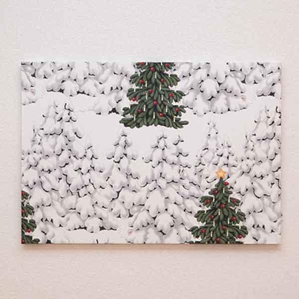 ★LD ORDER★ クリスマスファブリックパネル グレンオグラン/Gron o Grann 60×42cm