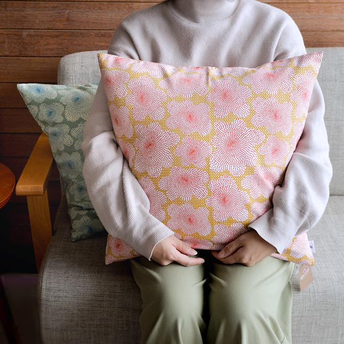 mon-yo モンヨー CUSHION COVER クッションカバー 45cm×45cm コットン生地/全8種 ■