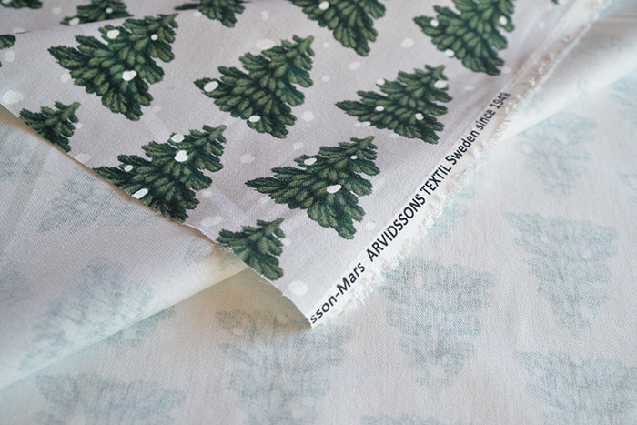 【生地】アルビッドソンズ・テキスタイル/ARVIDSSONS TEXTIL GRANEN グラーネン /ロール計り売り10cm単位 ■