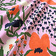【生地】マリメッコ/marimekko パルスタ/Palsta   ライラック/オレンジ/ダークブルー 10cm単位 ※2020SSシーズンカラー