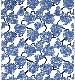 ★LD ORDER★ ファブリックパネル:Kosmos Karta コスモスカルタ (ブルー) 51×37cm