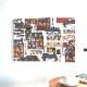 ★LD ORDER★ ファブリックパネル:アルビッドソンズ・テキスタイル Gamlastan ガムラスタン 60×42cm 2色