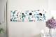 ★LD ORDER★ ファブリックパネル:kauniste カウニステ Tutti Frutti トゥッティフルッティ(ブルー) 30×30cm 3枚SET