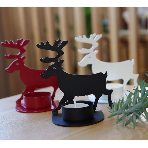 SPEGELS スペーゲル クリスマス雑貨 トナカイキャンドルホルダー<br>