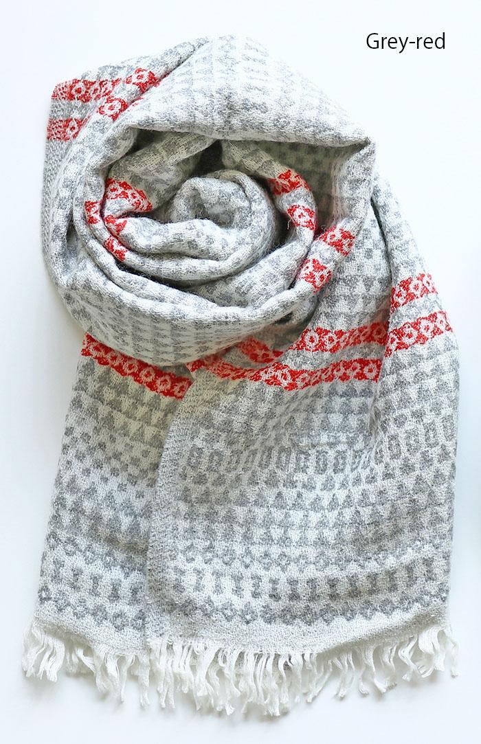 LAPUAN KANKURIT/ラプアン カンクリ AINO scarf/アイノスカーフ ウール100%スカーフ