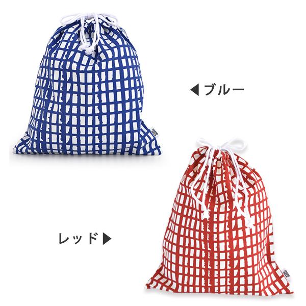 巾着袋 大【体操服入れサイズ】 STUDIO HILLA スタジオヒッラ pikku ピック ■