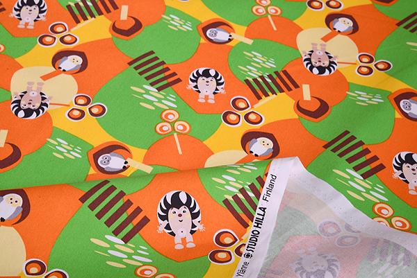 【生地】スタジオヒッラ/STUDIO HILLA ヘッジホッグ/Hedgehog 全3色/10cm単位 ■