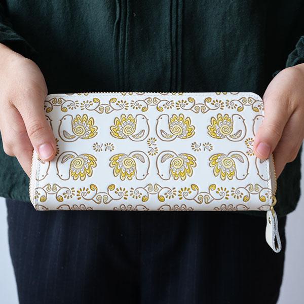 文庫屋「大関」× STUDIO HILLA スタジオヒッラ ぐるっとファスナーの長財布