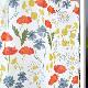 【ハーフ&ハーフ】アルビッドソンズ・テキスタイル /ARVIDSSONS TEXTIL 牧草地の花 Angsblommor エングスブロンムール ■