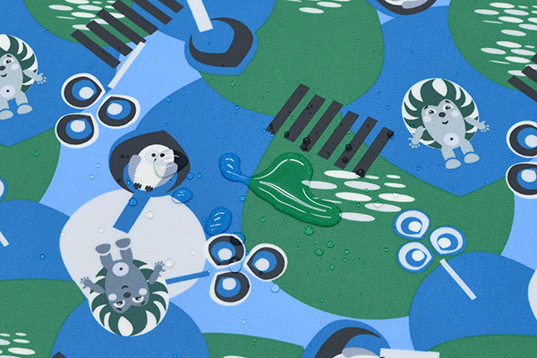 【ハーフ&ハーフ/コーティング生地】スタジオヒッラ/STUDIO HILLA ヘッジホッグ/Hedgehog 全3色 #