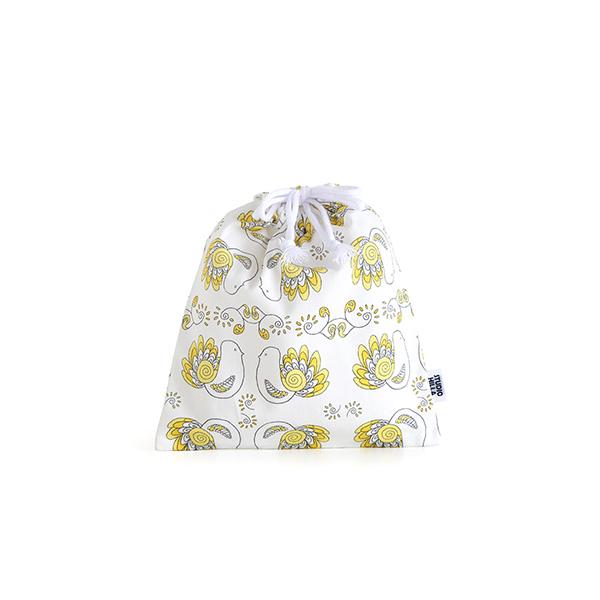 巾着袋 小 【コップ入れサイズ】 STUDIO HILLA スタジオヒッラ Pikkulinnut ピックリンツ  ■