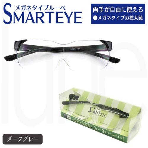ルーペ スマートアイ 拡大率1.6倍 老眼鏡