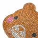 キーホルダー バッグチャーム くま クマ 熊 動物 アニマル キラキラ 可愛い レディース プレゼント Z