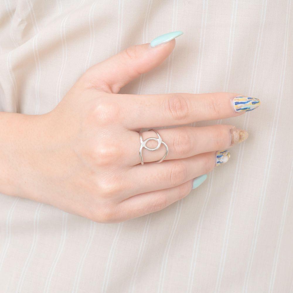 指輪 レディース リング ゴールド シルバー メタル デザイン シンプル カジュアル 女子会 N
