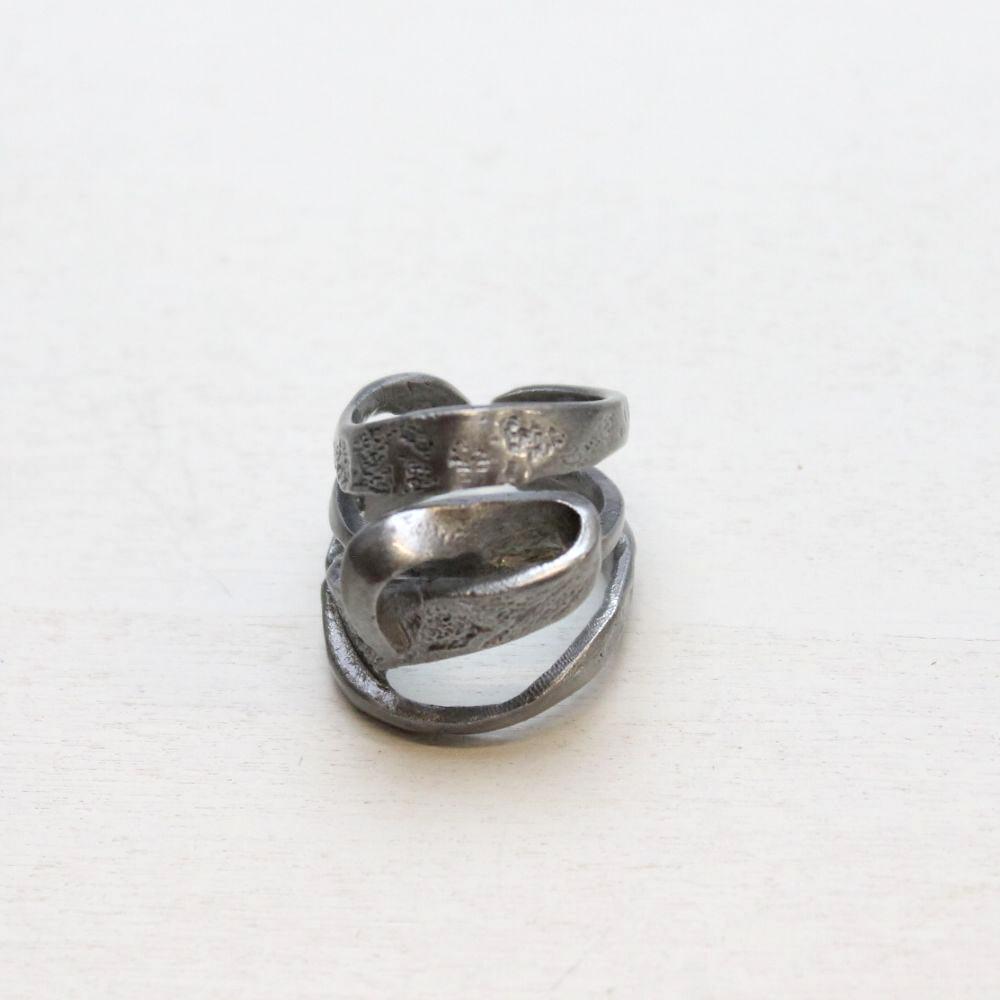 イタリア デザインメタルのリング 3色 スタジオジー