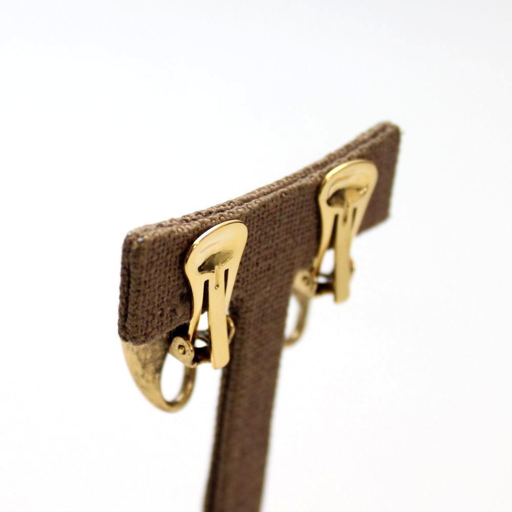 イタリア グリッターデザインのイヤリング 2色 スタジオジー