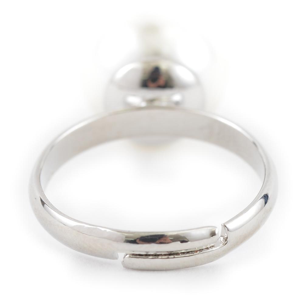 パールの1粒フリーサイズリング 指輪 P