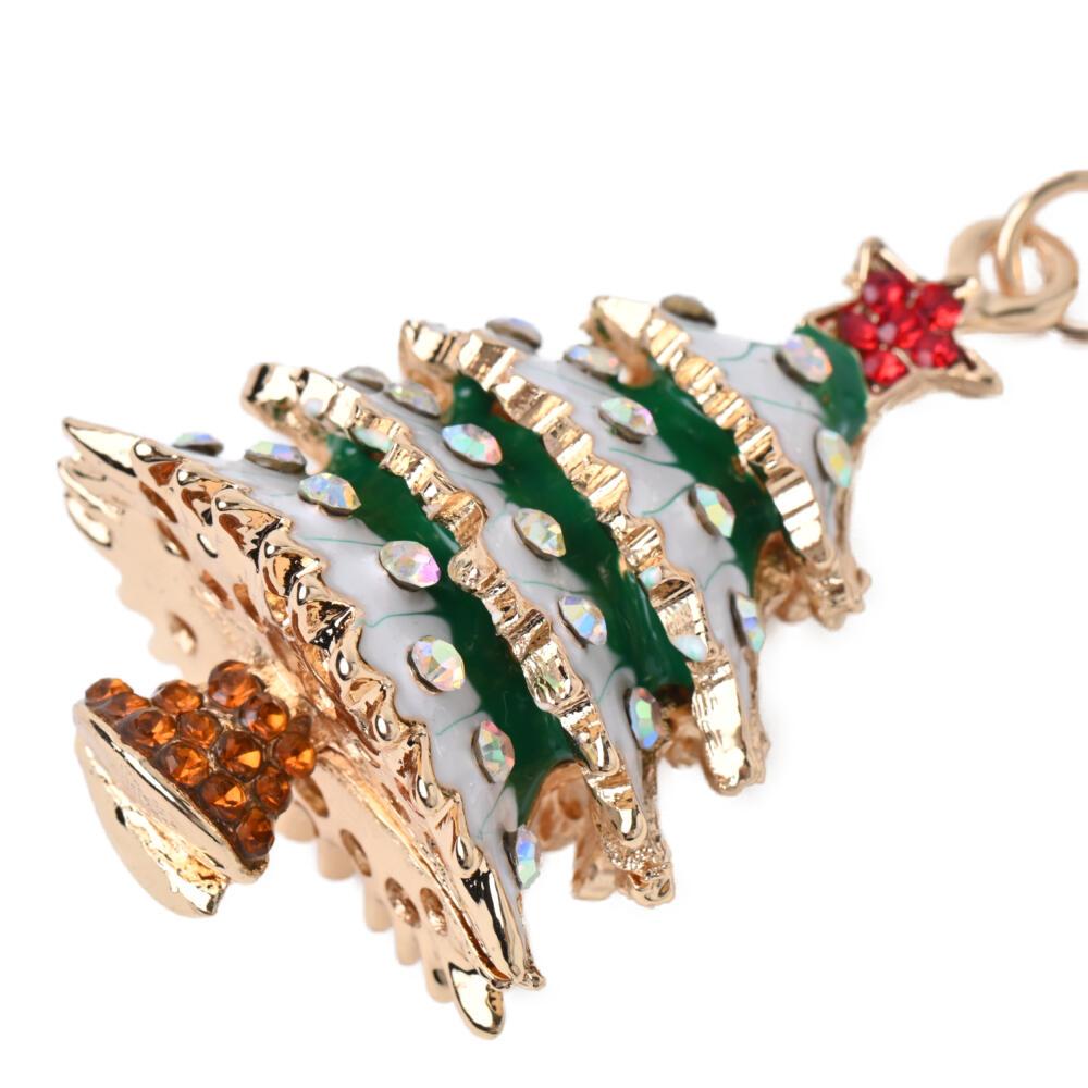 キーホルダー バッグチャーム クリスマス クリスマスツリー もみの木 雪 冬 プレゼント Z